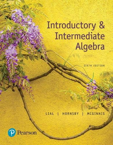 MyLab Math with Pearson eText -- 24 Month Standalone Access Card -- for Introductory & Intermediate Algebra with Integra