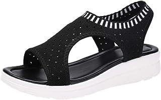 Beautyjourney Sandali donna - sandali estivi donna bassi sandali plateau donna estivi elegante sandali aperti donna mare s...