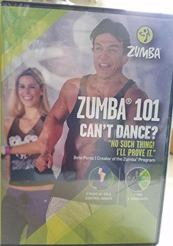 ZUMBA 101 Can't Dance DVD set