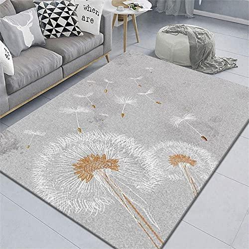 alfombras Infantiles Alfombra Gris, antifatiga, fácil de Extender y fácil de aspirar Alfombra de balcón Alfombra niños Foam -Gris_El 160x200cm