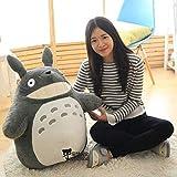 Pupazzo di Peluche di Totoro Studio Ghibli My Neighbor Totoro Plush Doll for Hayao Miyazaki Animali Peluche Cuscino Cuscino for Ragazza Regalo Decorazioni for la casa for Bambini (Size : 40cm)