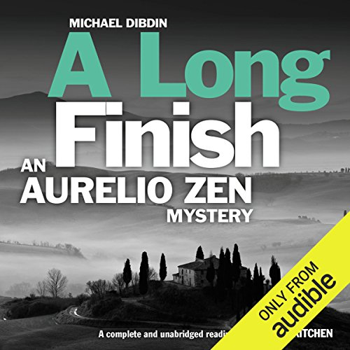 A Long Finish audiobook cover art
