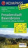 KOMPASS Wanderkarte Freudenstadt - Baiersbronn - Simmersfeld - Lossburg - Alpirsbach: Wanderkarte mit Aktiv Guide, Radwegen und Loipen. ... 1:25 000 (KOMPASS-Wanderkarten, Band 878)