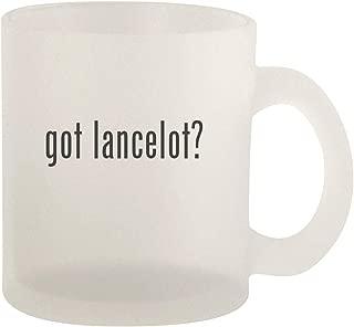 got lancelot? - Glass 10oz Frosted Coffee Mug