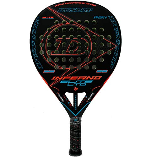Racchetta da paddle tennis Dunlop Inferno Elite LTD Blue.