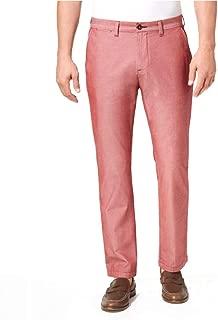 Mens 33X30 Custom Fit Chambray Chinos Pants