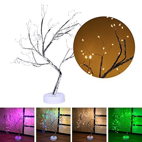 Simulatie boom licht tastschakelaar USB nachtschakelaar boomstam landschap bruiloft buitenverlichting decoratie