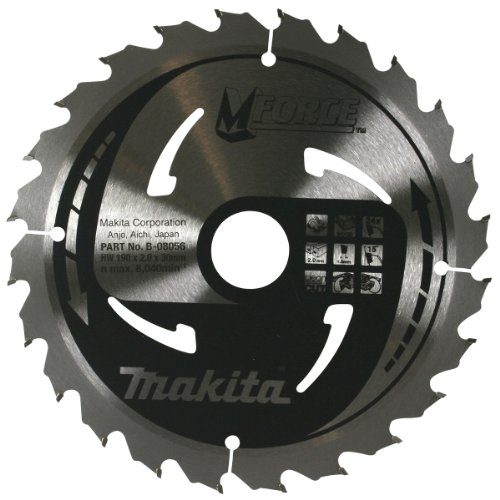 Makita B-08056 190 mm hoja para sierra Circular corte tamaño mediano