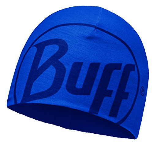Buff Microfiber and Polar Couvre-Chef Mixte, Logo Blue Skydiver, Adult/Taille Unique