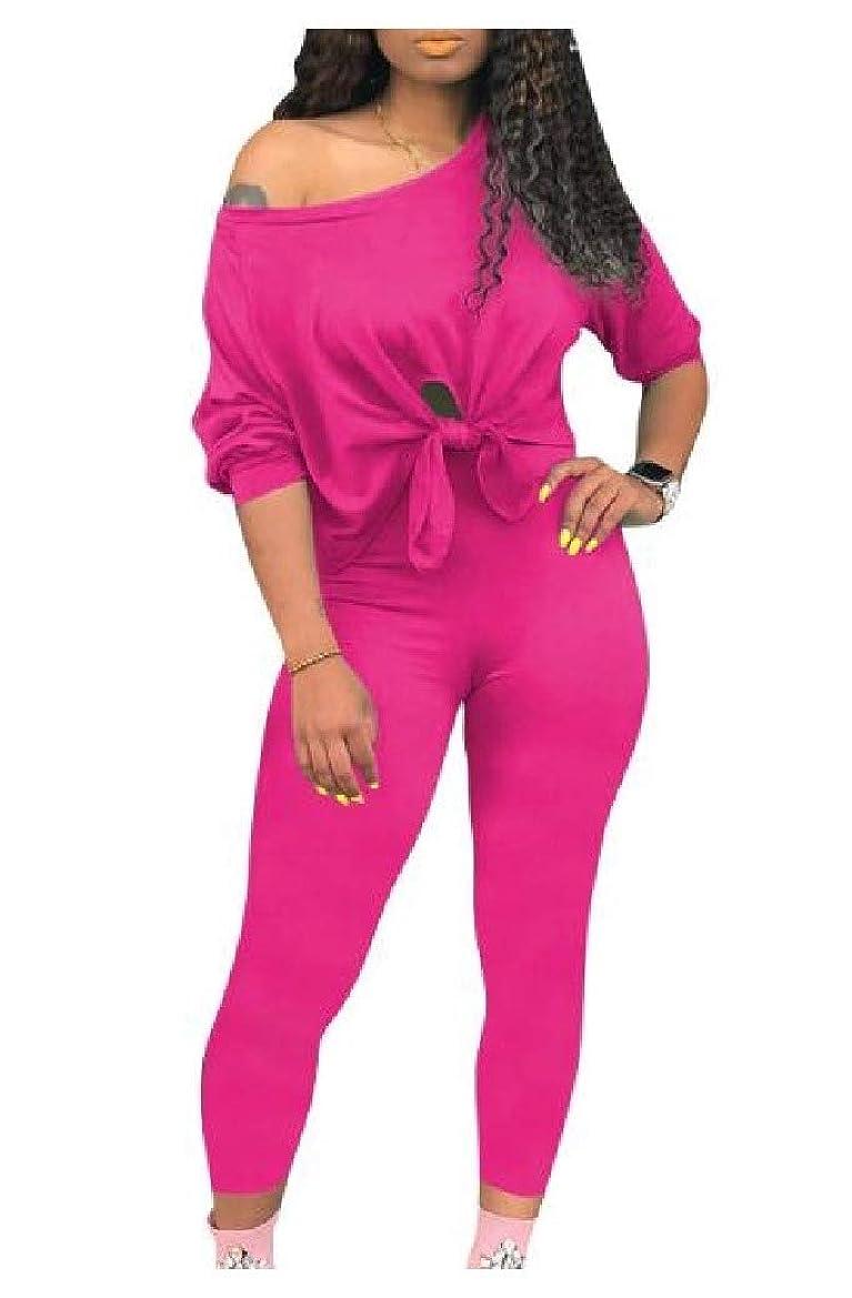 ピグマリオングラム祈るWomen Long Sleeve Athletic Casual Tops Outwear and Pants Outfit