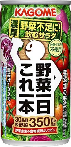 カゴメ 野菜一日これ一本 缶 190X30 [6602]