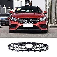 フロントグリル カバー for Mercedes-Benz E-Class W213 グリル フロントグリル front grille ラジエーターグリル外周カバー(カメラ穴付き)