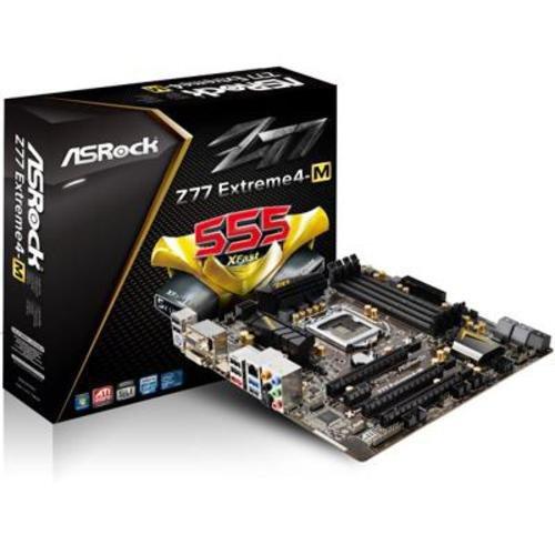ASRock DDR3 2400 Intel - LGA 1155 Motherboards (Z77 EXTREME4-M)