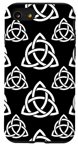 iPhone SE (2020) / 7 / 8 Triquetra Trinity Symbol Irish Celtic Knot Cheeky Witch Case