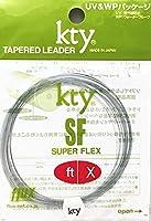フルックス(flux) kty ナイロンフライリーダー・SF 9ft、12ftオールラウンドタイプ スーパーフレックス (12FT 4X)