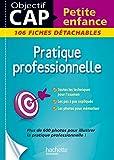 Fiches CAP Petite Enfance Pratique professionnelle (Objectif Bac Fiches) - Format Kindle - 7,99 €