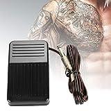 Rotekt Tattoo Tool Negro Biselado Antideslizante Tatuaje Pedal Pedal Interruptor De Tatuaje Compacto