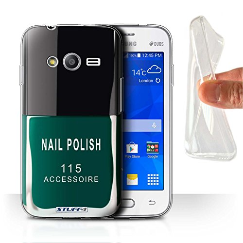 Stuff4 Var voor Samsung Galaxy nagellak/make-up Samsung Galaxy Trend Neo/G313 Groen