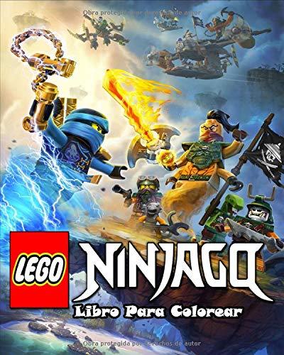 Lego Ninjago Libro Para Colorear: Con 50 diseños di Alta Calidad , Fácil y divertido para niños y adultos de 3-8, 6-8 e 8-12, +18