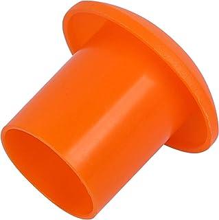 KEILEOHO 50 PCS Rebar Safety Caps,Yellow Plastic Mushroom Rebar Cap End Identification Bar Mushroom Building Construction ...