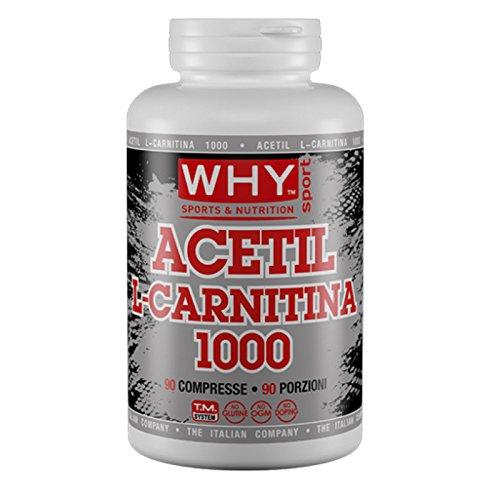 Why Sport Acetil L-Carnitina 1000 90 compresse da 1 gr Carnitina