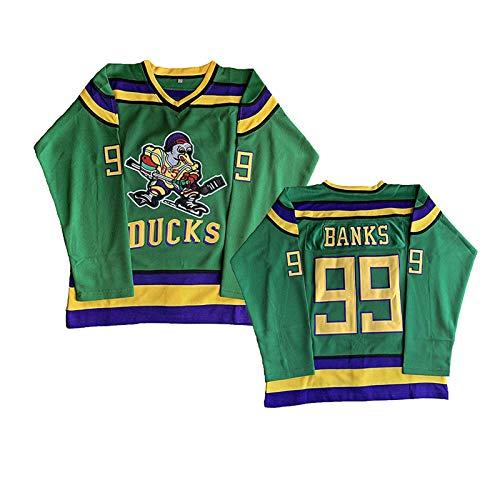 NHICR Camiseta de manga larga para hombre con bordado de hockey sobre hielo, camiseta de...