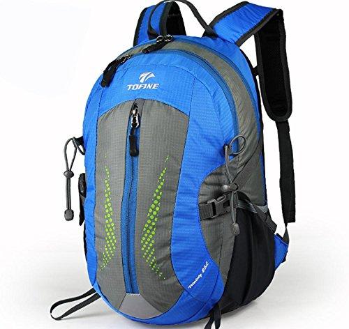 Nouveau sac à dos plein air randonnée sac 25L hommes et femmes casual, sac à dos moyens sacs extérieurs , blue