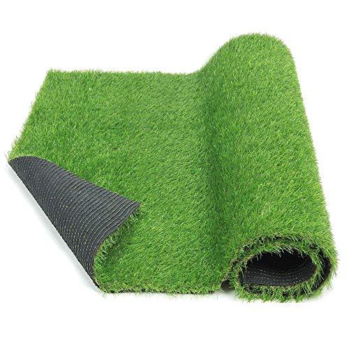 uyoyous Kunstrasen Rasenteppich Grasmatte Künstlicher Rasen Rollrasen Kunststoffrasen Gras Rasenteppich Kunststoffrasen für Garten Terrasse Balkon (Höhe: 30 mm,1m X 10m)