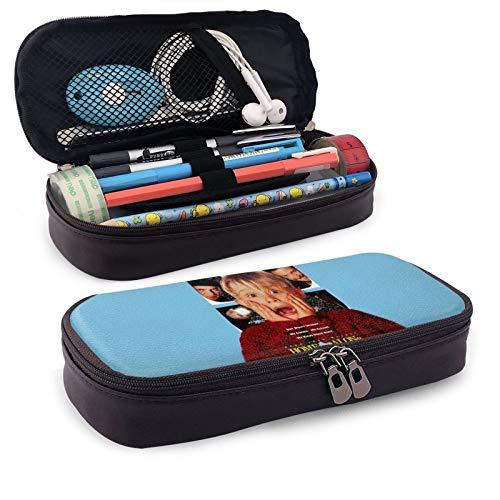 HOM-e Alo-ne - Estuche rectangular para lápices, cajas de papelería para niños, adolescentes, niñas, hombres, mujeres