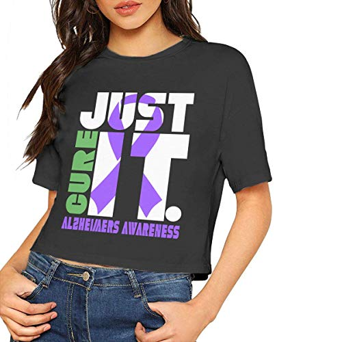 Inktastic Let/'s Find A Cure Alzheimer/'s Awareness T-Shirt Support Care Family