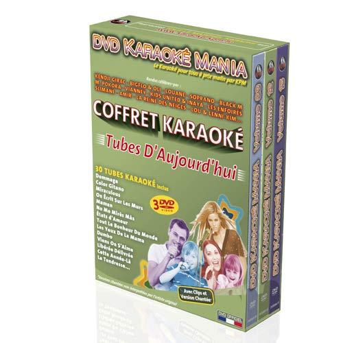 Coffret 3 DVD Karaoké Mania 'Tubes D'Aujourd'hui'