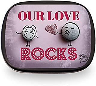 Gears Out Our Love Rocks Mints Cute for Wife Husband Fun Easter Ideas for Adults Stocking Stuffers for Men I Love You for Lovers Chocolate Breath Mints Valentine's Day Anniversary Just Because