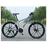 CENPEN Outdoor-Sport-Mountainbike, mit starrem 43,2 cm (17 Zoll) Hartstahl-Rahmen, 30-Gang-Antrieb,...