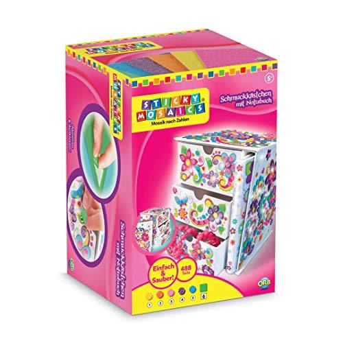Sticky Mosaics 69827 620124 - Sticky Mosaics Schmuckkästchen mit Notizbuch