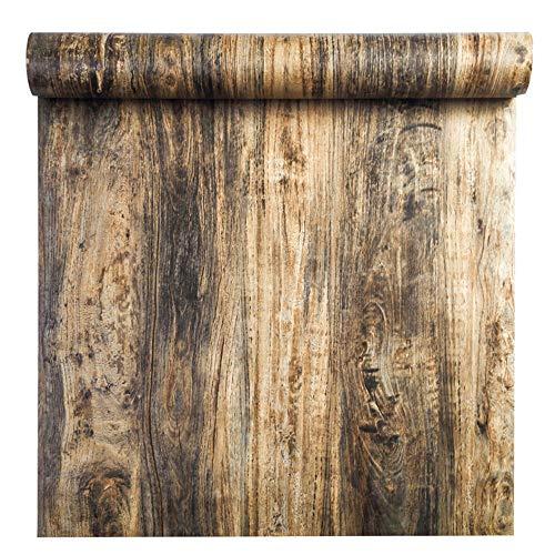 GLOW4U Papel de contacto autoadhesivo de vinilo envejecido, para armarios de cocina, estanterías, encimeras, mesas, mesas, muebles de pared (24 x 98 pulgadas)