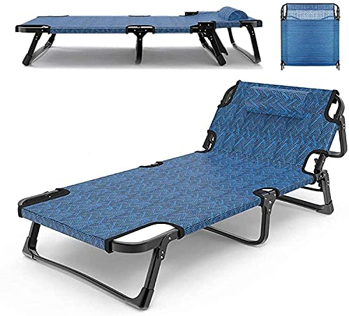 JAKWBR Chaise Lounge Tumbonas plegables transpirables, reclinables de gravedad cero de alta resistencia, reclinables para patio con reposacabezas y capacidad de carga de 600 libras
