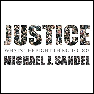 Justice audiobook cover art