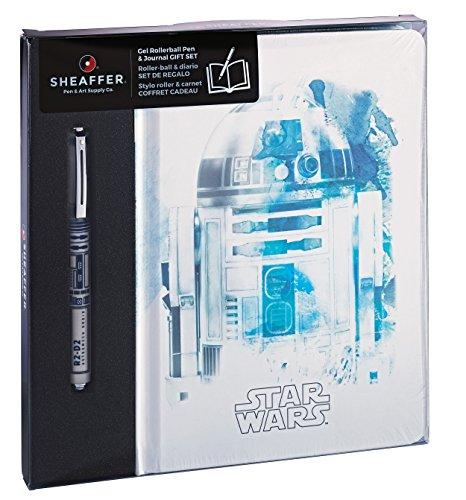 Sheaffer Star Wars Collection R2 D2 - Set para regalo de cuaderno y bolígrafo de tinta de gel