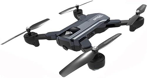 barato Comomingo F196 Flujo óptico Quadcopter RC Drone Plegable Plegable Plegable con cámara de 2MP 2200mAh (gris)  ahorra hasta un 30-50% de descuento