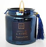 Vela perfumada Premium de 300 g. Regalo exclusivo para tus seres queridos perfecto para la lectura de libros, aroma, yoga, aromaterapia, meditación, ambiente casa apartamento, inauguración de la casa