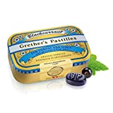 Grether's Pastilles Original Formula for Dry Mouth and Sore Throat Relief, Blackcurrant, 3.75 oz....