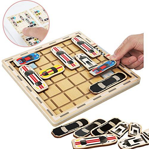 labyrint puzzel auto doolhofspel, ouder-kinderen interactie mobiele auto bordspellen voor educatieve logische denktraining voor kinderen