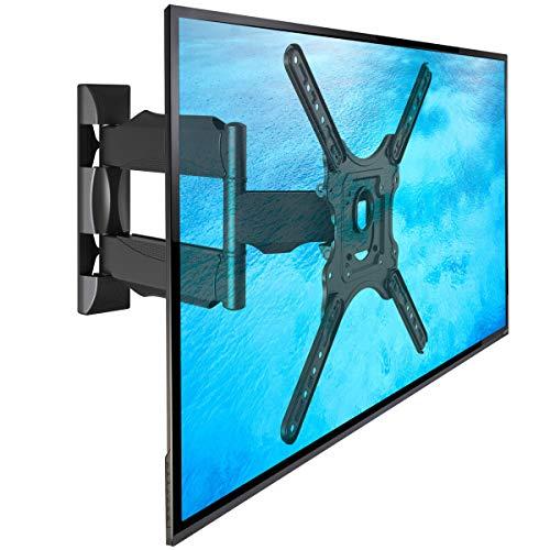NB P4 - Supporto TV da parete, girevole di alta qualità per schermi TV LCD LED e PLASMA 81-140 cm/ 32