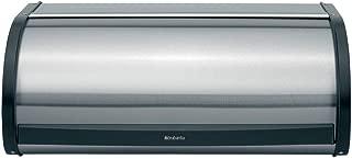 Brabantia Roll Top Bread Box – Matte Steel Fingerprint Proof