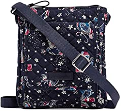 Vera Bradley Iconic RFID Mini Hipster in Holiday Owls, Signature Cotton