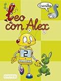 Leo con Álex 2. Escribo (Leo con Alex) - 9788424182632