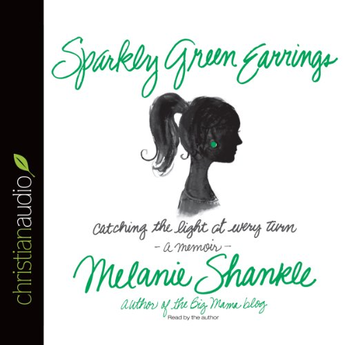 Sparkly Green Earrings audiobook cover art