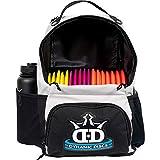 Dynamic Discs Cadet Disc Golf Backpack | Gray/Black | Frisbee Disc...