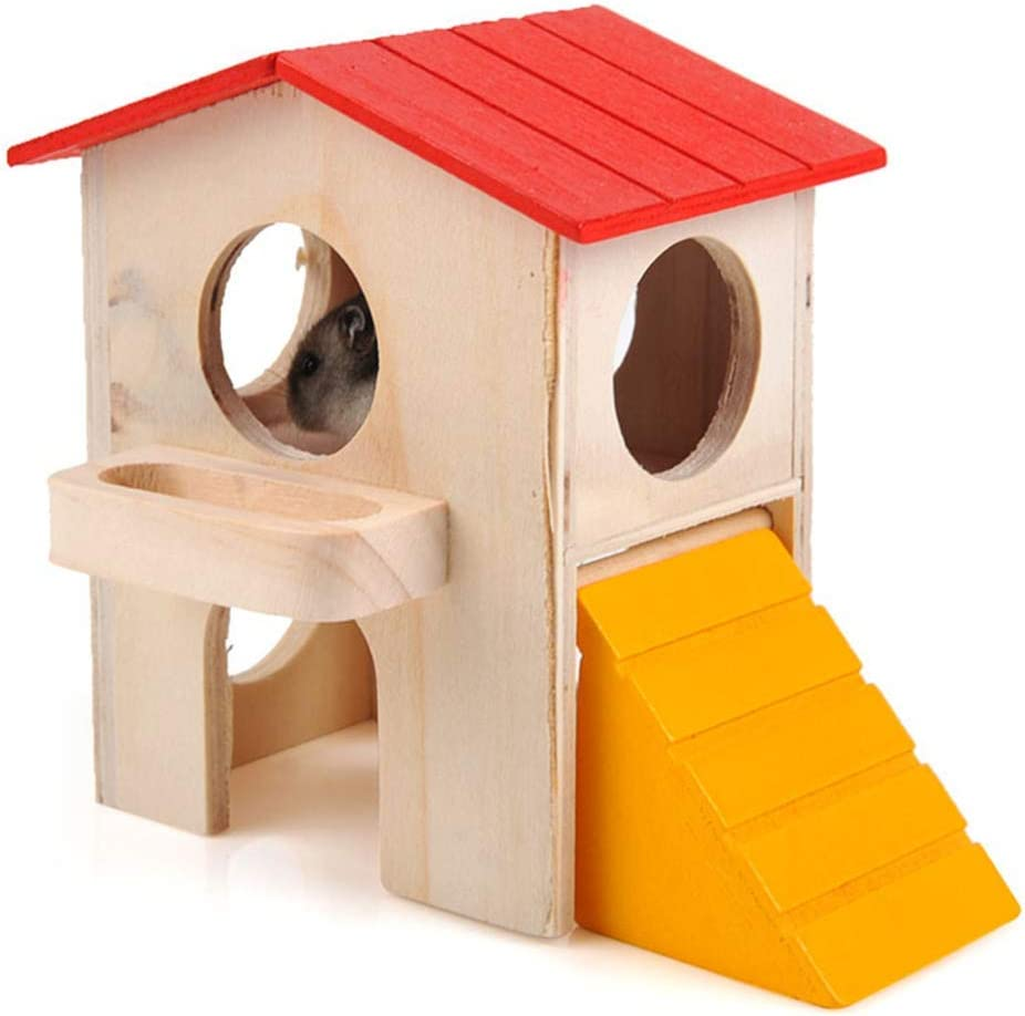 XiYou Hamster Hideout House Deluxe 2 Wooden Hideaway Hut Translated Layers Ranking TOP11