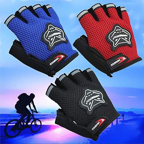 WI Guantes de ciclismo unisex Guantes de bicicleta ceremoniales para guantes de...